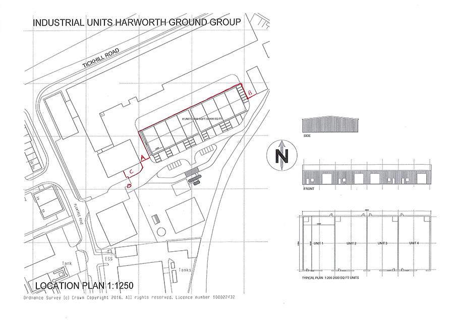 24,000sqft at Plumtree Road, Harworth
